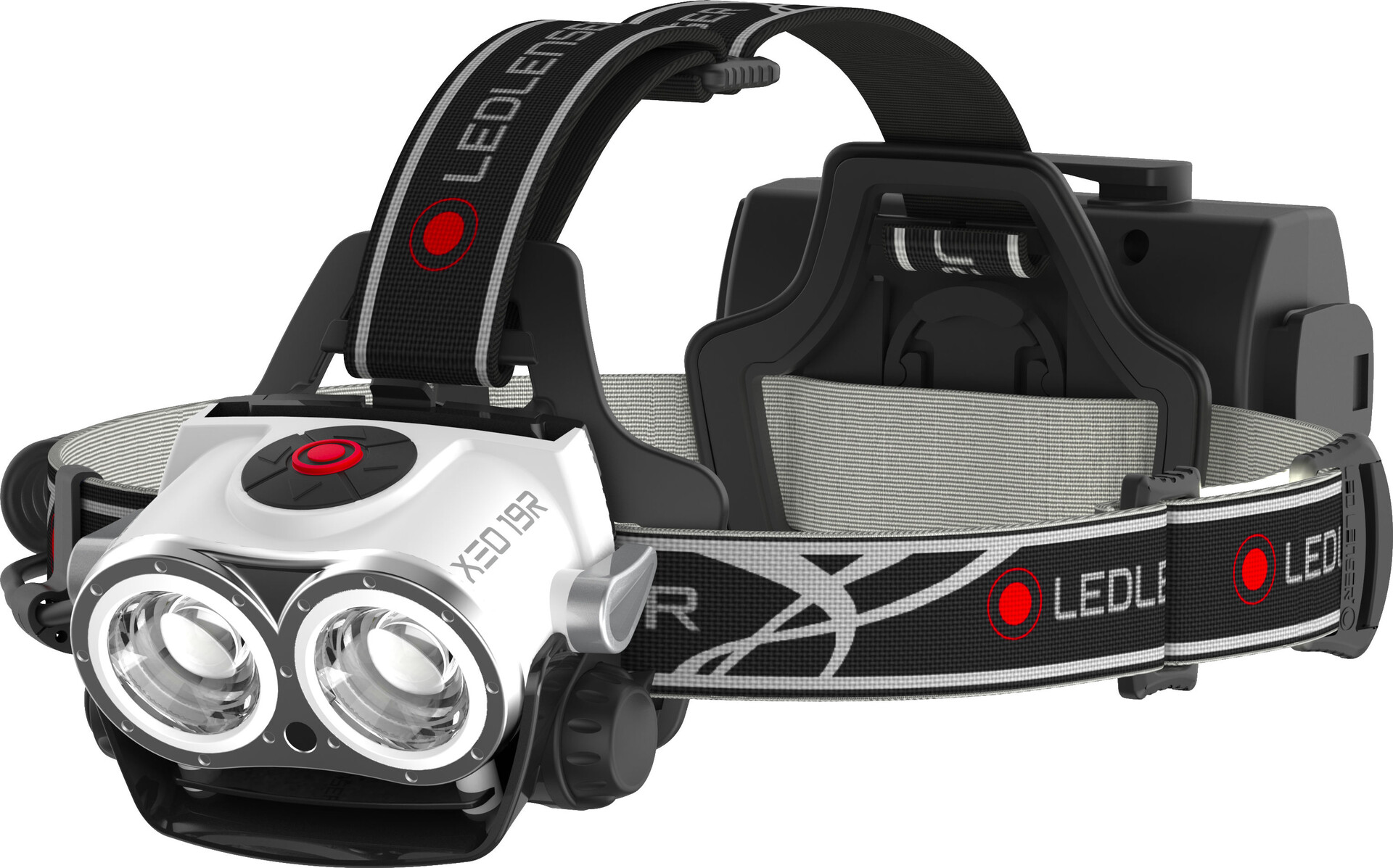 Frontale Blanc Lenser Lampe Xeo Led 19r E2DHI9